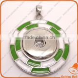 CJ2072 alloy pendants for jewelry making,snap button pendants, wholesale jewelry snap button jewellery