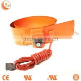 Anti-explosion flexible silicone band oil drum rubber heaterwith digital temperature controller