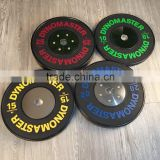 2015 hot sale !!! Crossfit Olympic training bumper plate for weight lifting