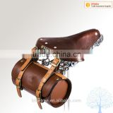 high quality fashion pu leather saddle bike bag bicycle bag