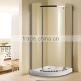 Foshan Lelin aluminum alloy bath shower enclosure cabin vanity with 6mm tempered glass JC-16