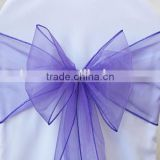 Beautiful Banquet Chair Decoration Organza Sash