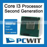 Intel Sandy Bridge Core i3 2370M SR0DP Processor FF8062700995906 3M Cache 2.30 GHz CPU Wholesale Retial