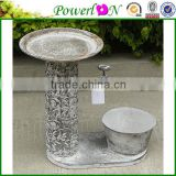 Popular Novelty Metal Bird Freeder Plant Pot Garden Ornament For Patio Backyard I29M TS05 X00 PL08-6142