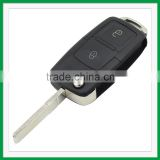 Best Price Flip Remote Key Case for VOLKSWAGEN VW Passat Golf Beetle GTI Rabbit 2 Button