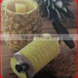 stainless steel automatic pineapple peeler corer slicer