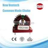 Single phase electronic winding coil winding toroidal choke