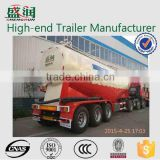 3 axles 50cbm cement bulk carrier trailer/cement bulk trailer /dry cement powder material truck semi-trailer for sale
