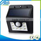 240Lumens Max 8LED Outdoor Solar Lights Motion Sensor - For Patio Deck Yard Garden Driveway Stairs Outside Wall - 3 Modes