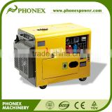 China 7KVA Diesel Generator Factory Price Portable Generator Home Use Silent Key Start Diesel Generator