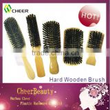 Wooden hair brushes /professional wooden hair brushes wholesale/hair brush for black men