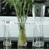 New Arrival crystal glass plant vases for wedding(R-1473