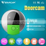 Vstarcam 2015 New Arrival C95 door viewer camera with 720P HD picture quality IOS Android supported