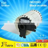 Top quality Compatible label tape DK22243 for Brother QL-1050 printer
