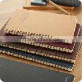 Design Recycled Brown Kraft Paper Spiral Notebook