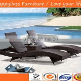 New product outdoor patio furniture Luxury outdoor lounge HL-2074 with umbrella