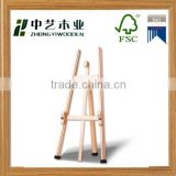 Delicate high quality strong foldable customized artistic drawing portable wooden easel stand