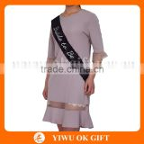 High Quality Black Bachelorette Lace Sash for Hen Party