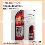 For toyota hiace auto parts hiace tail light #000762 for hiace 2014 new model, commuter van bus