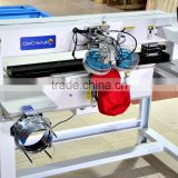 CE approved automatic rhinestone setting machine for hat