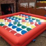 Giant Inflatable Twister for adults pop yard games Inflatable Air Twister Mattress