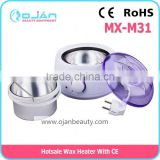 MX-M31 hair removal wax heater/facial paraffin wax heater/wax heater warmer pot