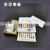 Factory directly supply with certificate popular non-toxic safe water color paint set solid watercolor cake paint wholesale