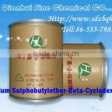 Injectable grade Veterinary drugs (182410-00-0)Sulfobutyl ether beta cyclodextrin sodium