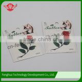 2015 New Fashion Top Quality Promotional Customized Temporary Tattoo Stickers