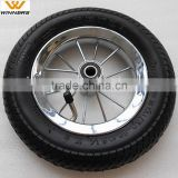8.5 inch pneumatic tire steel rim baby bicycle wheels