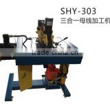 SHY-303 Multi Function Hydraulic Bus bar Processor Machine for Cutting,Punching and Bending