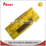 Electric overmold of 2 part plastic 2 shot injection molding