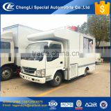 Chengli good quality and cheap price 4x2 mobile food vending truck for cooking food BBQ