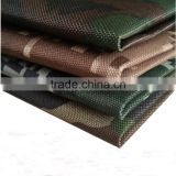 Polyester 600d oxford fabric waterproof oxford fabric with pvc coated camouflage oxford fabric