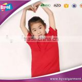 High Quality Children Polo T Shirts 100% Cotton Blank Kids Polo Shirts Wholesale