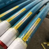 DN125 3m 4 Layers Steel Wire Reinforced Concrete Pump Rubber Hose