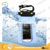 High quality eco-friendly waterproof cell phone bag phone dry cover