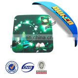 China manufacturer computer 3d PET/PP mouse pad with wrist support
