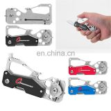 12 in 1 stainless steel 420 multi tool knife with locking knife bottle opener