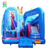 inflatable Frozen style fairy tale world children playground bouncy castle for jumping