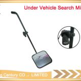 Security checking square under vehicle security inspection mirror