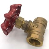 With Antique Brass Finishes Mains Water Stopcock Straight-through Body