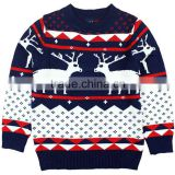 2016 winter christmas pullover Knit Christmas Sweater China factory Wholesaler