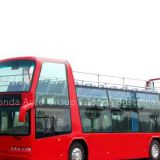 I'm very interested in the message 'double deck bus - sightseeing bus (open-top)' on the China Supplier