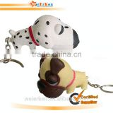 hot sell promotional animal shape pu stress ball keychain ith logo for promotion china supplier