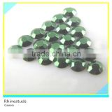 Rhinestud For Bag Green Round Flatback Metallic Ss6 2mm 600 Gross Package