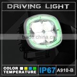 VW Golf 4 Round LED Offroad Daytime Running Modified Car Light