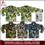 factory wholesale fashion custom dri fit camo paintball uniform for sports