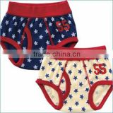 100% cotton infant products high quality baby toddler wear boy kids underwear brief children clothing inner wholesale