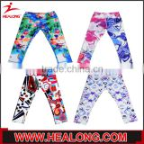 Sublimation printing specialized capri and long yoga leggings